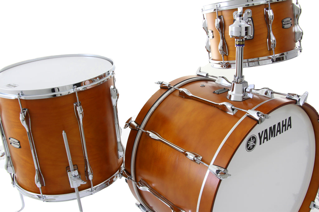 Yamaha Recording Custom 3 Piece Drum Set Shell Pack - Real Wood Matte Finish