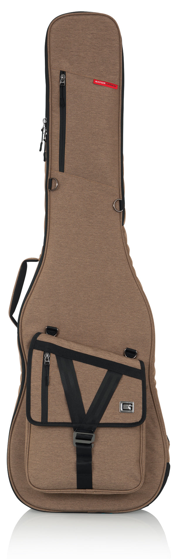 Gator GT-BASS-TAN Transit Bass Guitar Bag - Tan