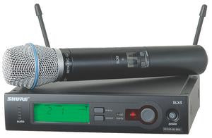 Shure SLX24/BETA87C Wireless System With Shure Beta 87C (Cardioid) Capsule