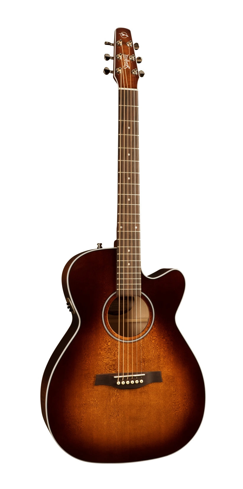 Seagull Performer CW CH Concert Hall Burnt Umber QIT Acoustic Electric Guitar