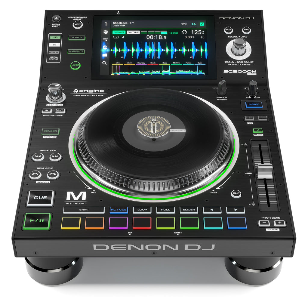 Denon SC5000M Prime Pro Motorized DJ Media Player