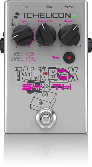 TC Helicon Talkbox Synth