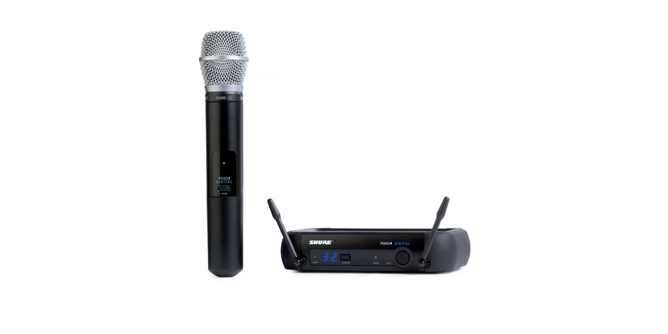Shure PGXD24/SM86 Digital Wireless System - 900 MHz