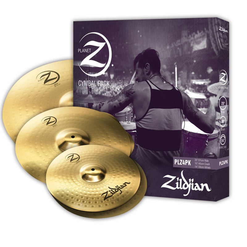 Zildjian Planet Z 4 Piece Cymbal Pack