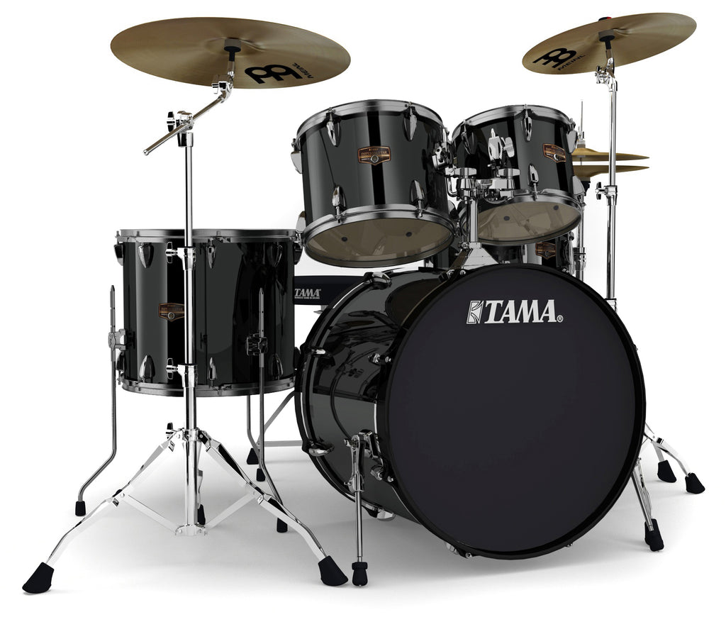 "Tama Imperialstar 22"" Kick 5-Piece Drum Set w/ Cymbals & Hardware"