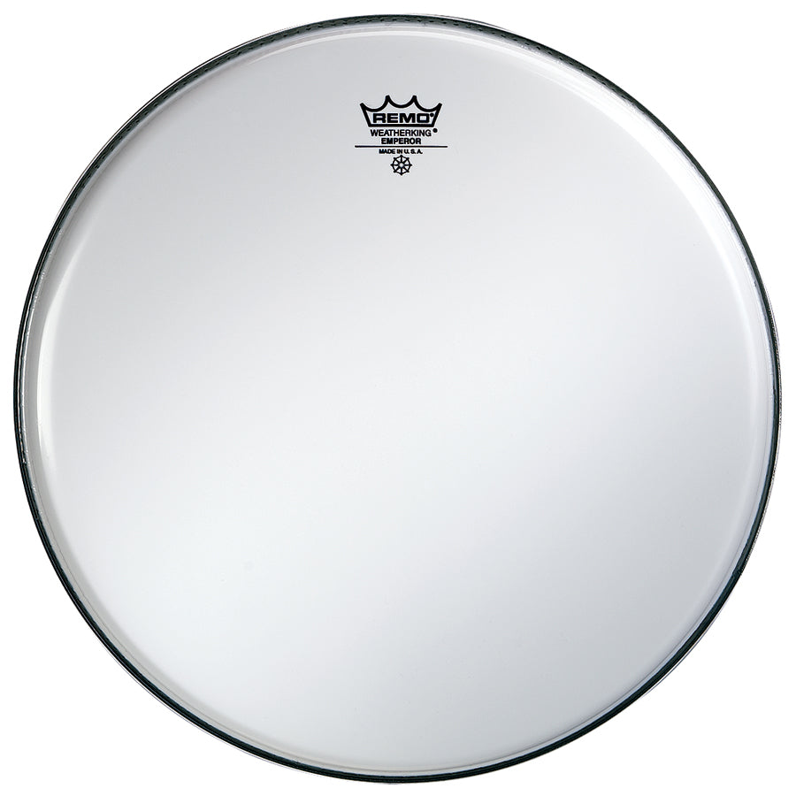 "Remo 18"" Smooth White Emperor Bass Drum Head"