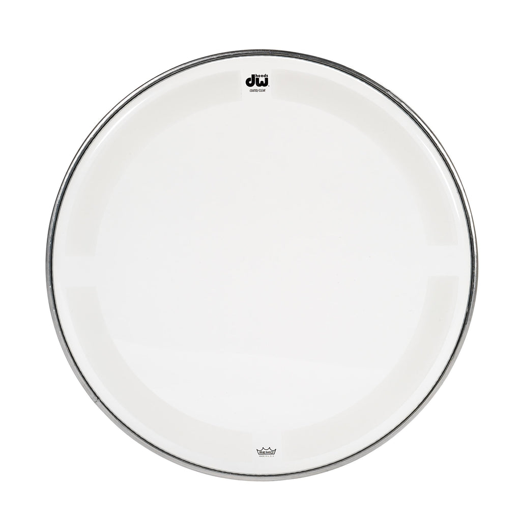 Drum Workshop DRDHCC16 16-Inch Coated Clear Drum Head