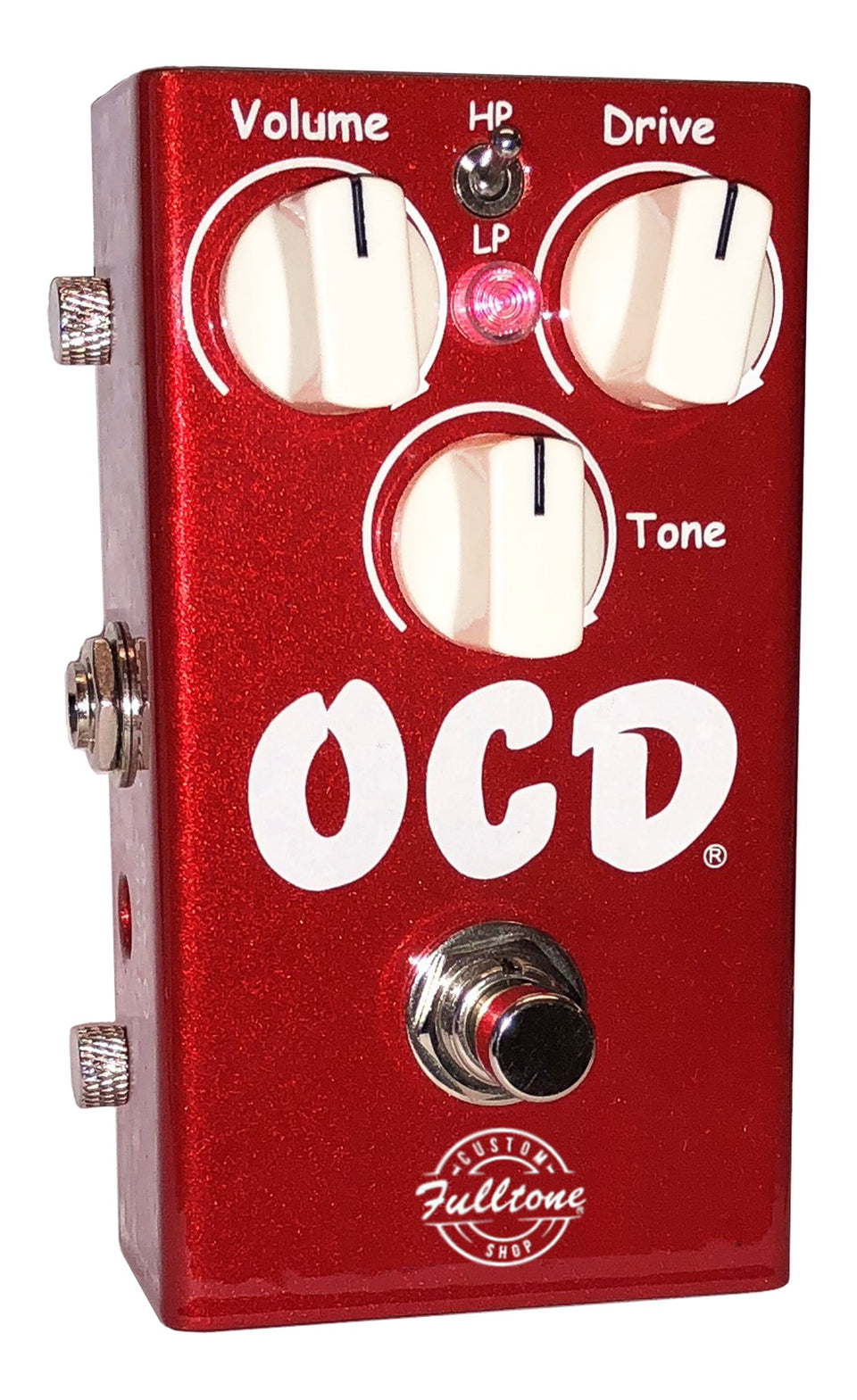 Fulltone Custom Shop Limited Edition OCD Overdrive Guitar Effects Pedal - Candy Apple Red