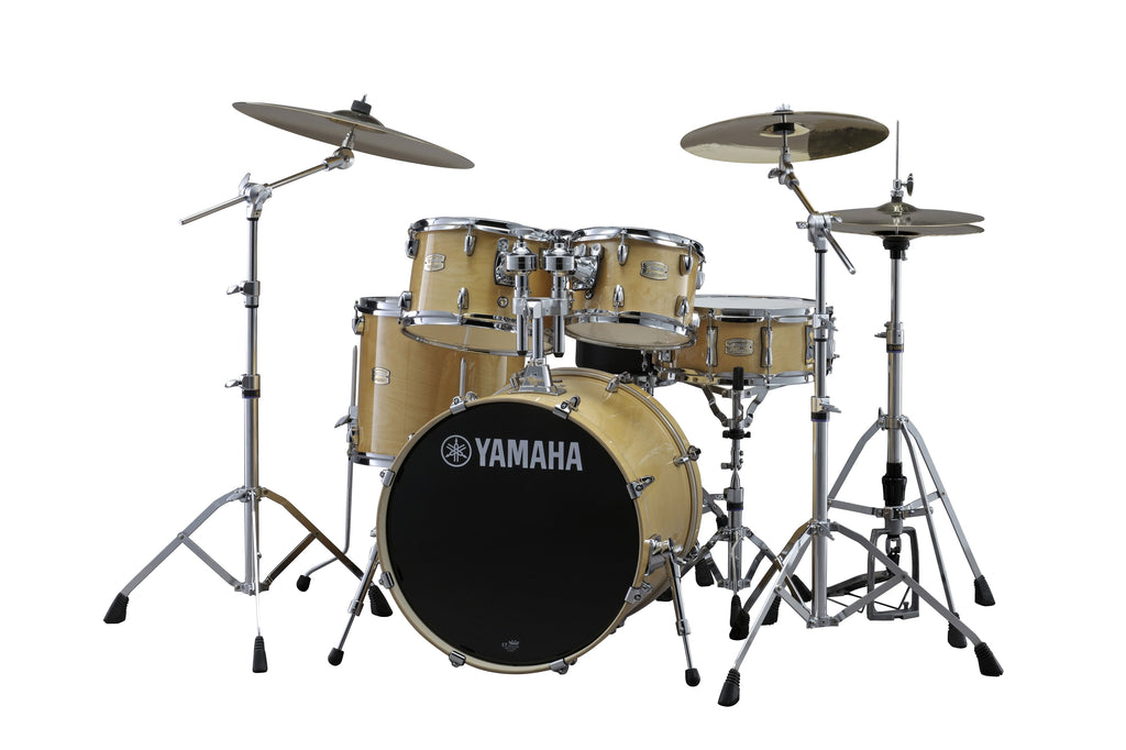 "Yamaha Stage Custom Birch 22"" Kick Drum Set w/ Hardware - Natural Wood"
