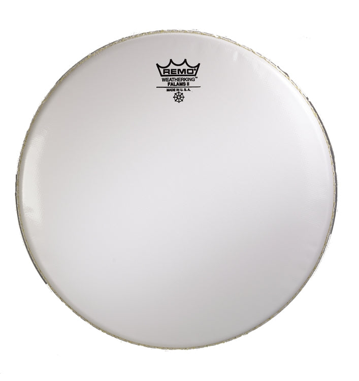 remo smooth white falams ii marching snare drum batter head chuck le. Black Bedroom Furniture Sets. Home Design Ideas