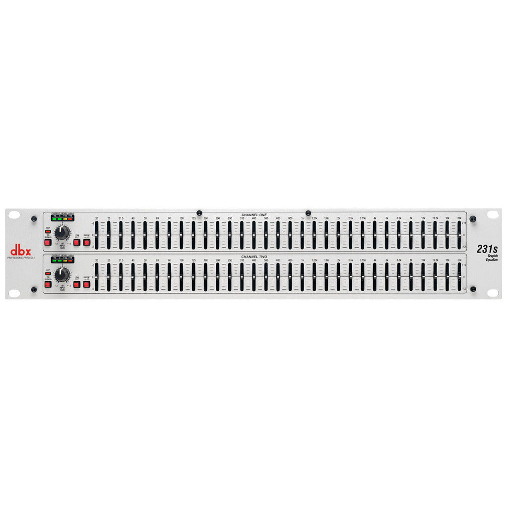 DBX 231s Dual 31 Band Graphic Equalizer