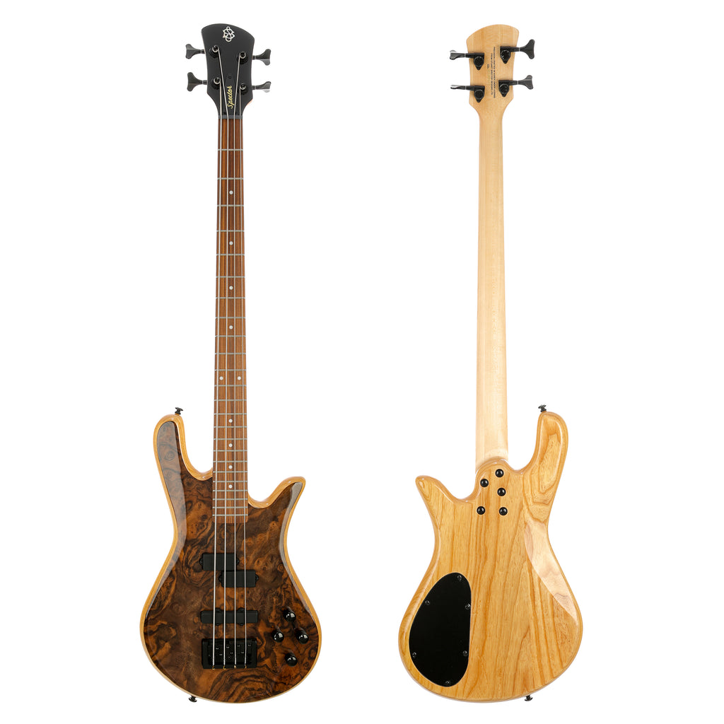 Spector Legend 4 Classic Bass Guitar - Walnut Burl