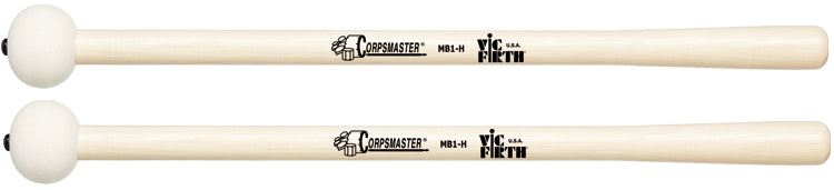 "Vic Firth MB1H Corpsmaster Marching Bass Drum Mallet, For 18"" - 22"" Bass Drums"