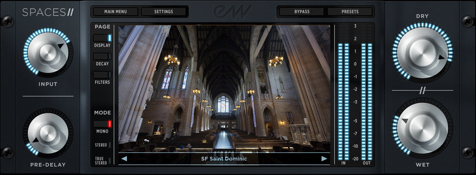 EastWest Spaces II Convolution Reverb - Download