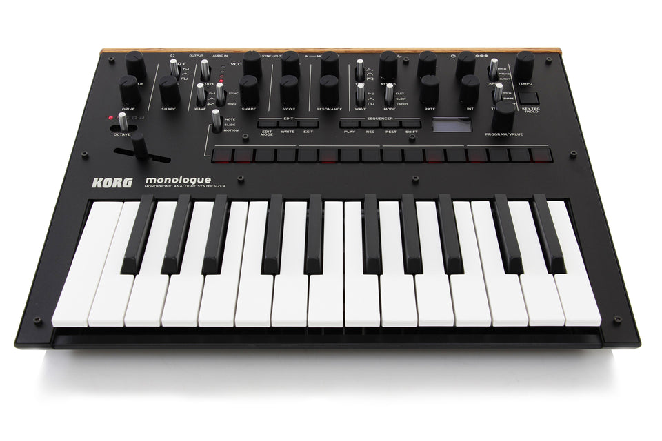 Korg monologue Monophonic Analogue Synthesizer - Black