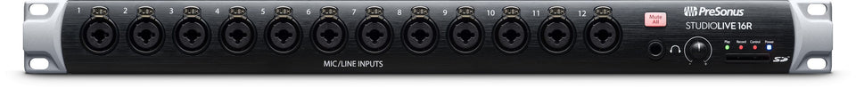 Presonus StudioLive 16R 18-Input, 16-Channel Series III Stage Box And Rack Mixer
