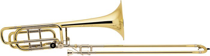 Bach 50B2 Stradivarius Professional Model Bass Trombone Outfit