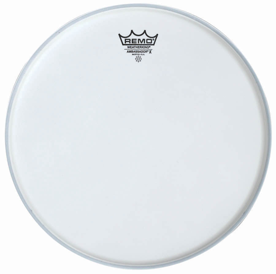 "Remo 13"" Coated Ambassador X Drum Head"