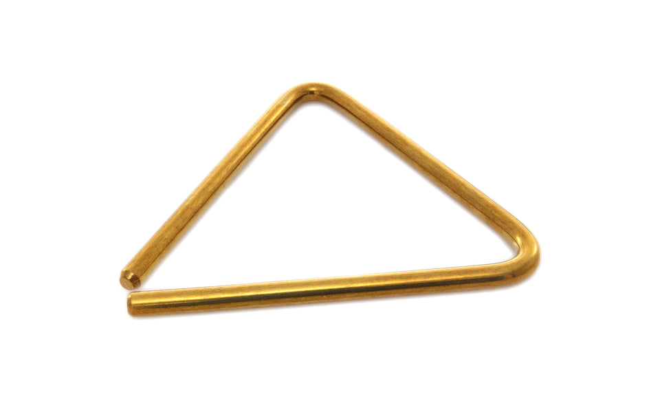 "Grover TR-B-6 6"" Bronze Concert Triangle"