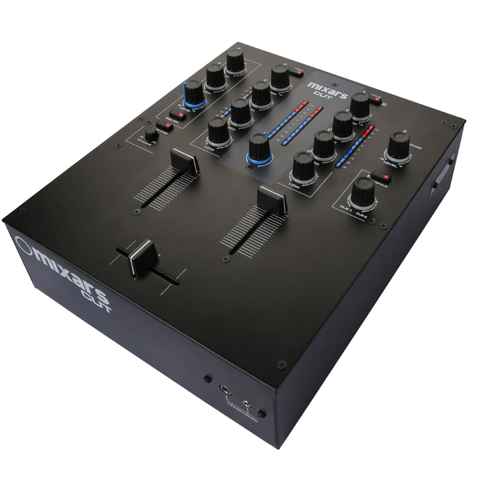 Mixars CUT 2 Channel DJ Battle Mixer