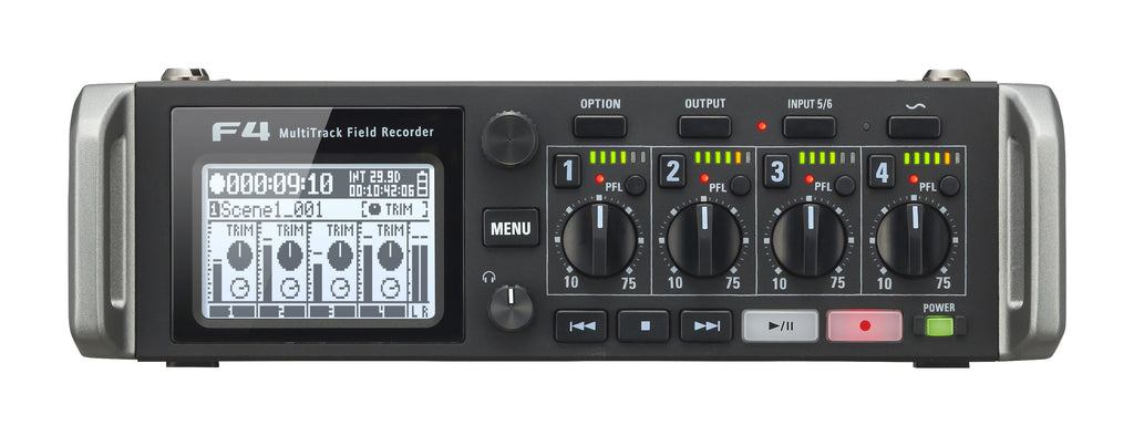 Zoom F4 Multitrack 6-In/8-Track Field Recorder