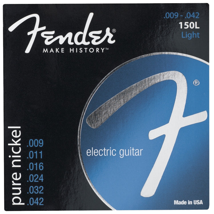 Fender Original 150L Electric Guitar Strings, Light (9 - 42)