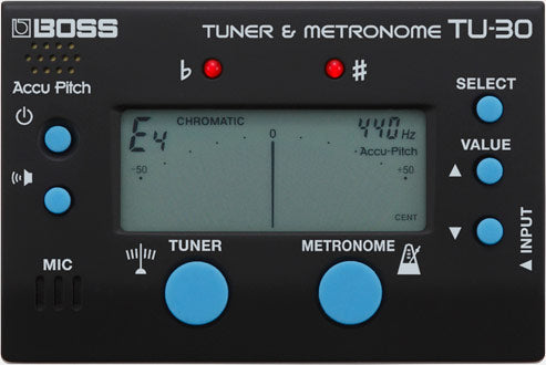 Boss TU-30 Metronome And Tuner
