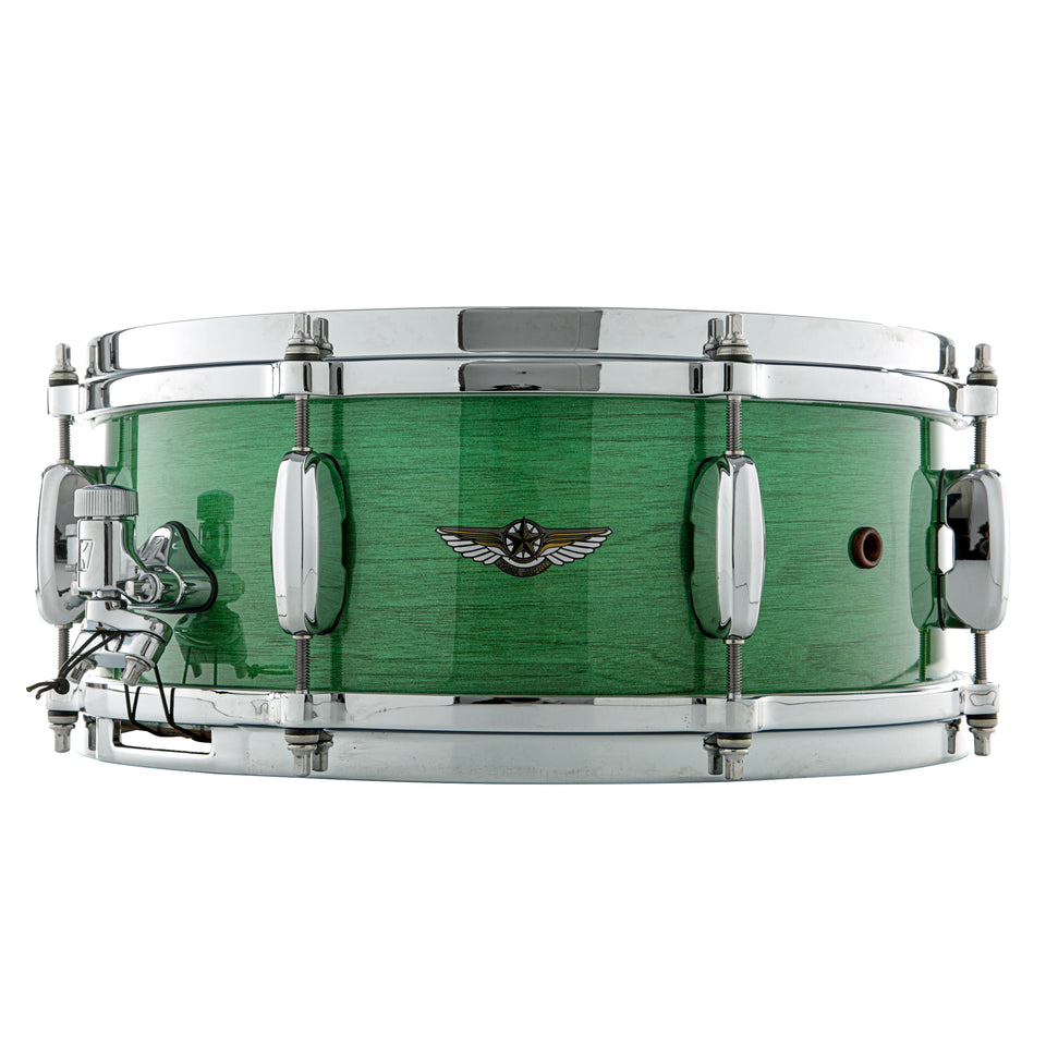"Tama 14"" x 5.5"" STAR Walnut Snare Drum - Mint Green Mist"