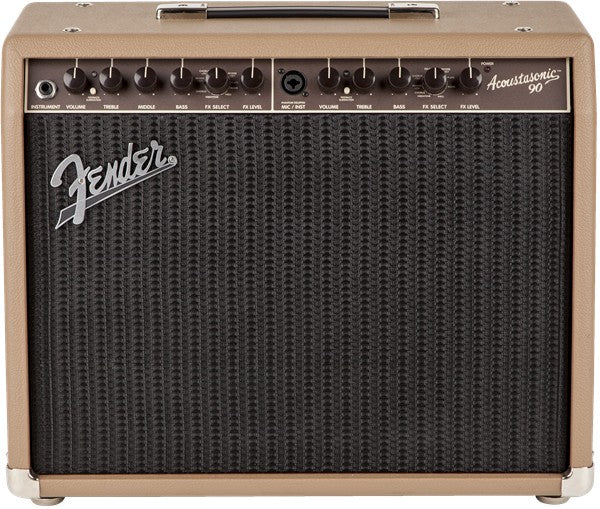 Fender Acoustasonic 90 120V Acoustic Guitar Combo Amplifier