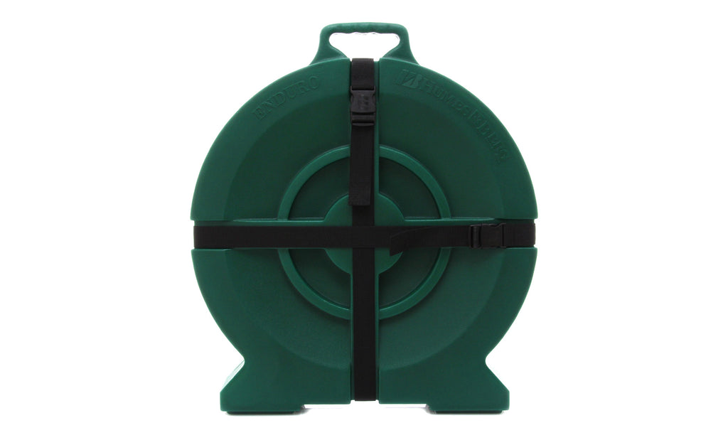 "Humes & Berg DR526ZFG 22"" Enduro Cymbal Case - Forest Green"