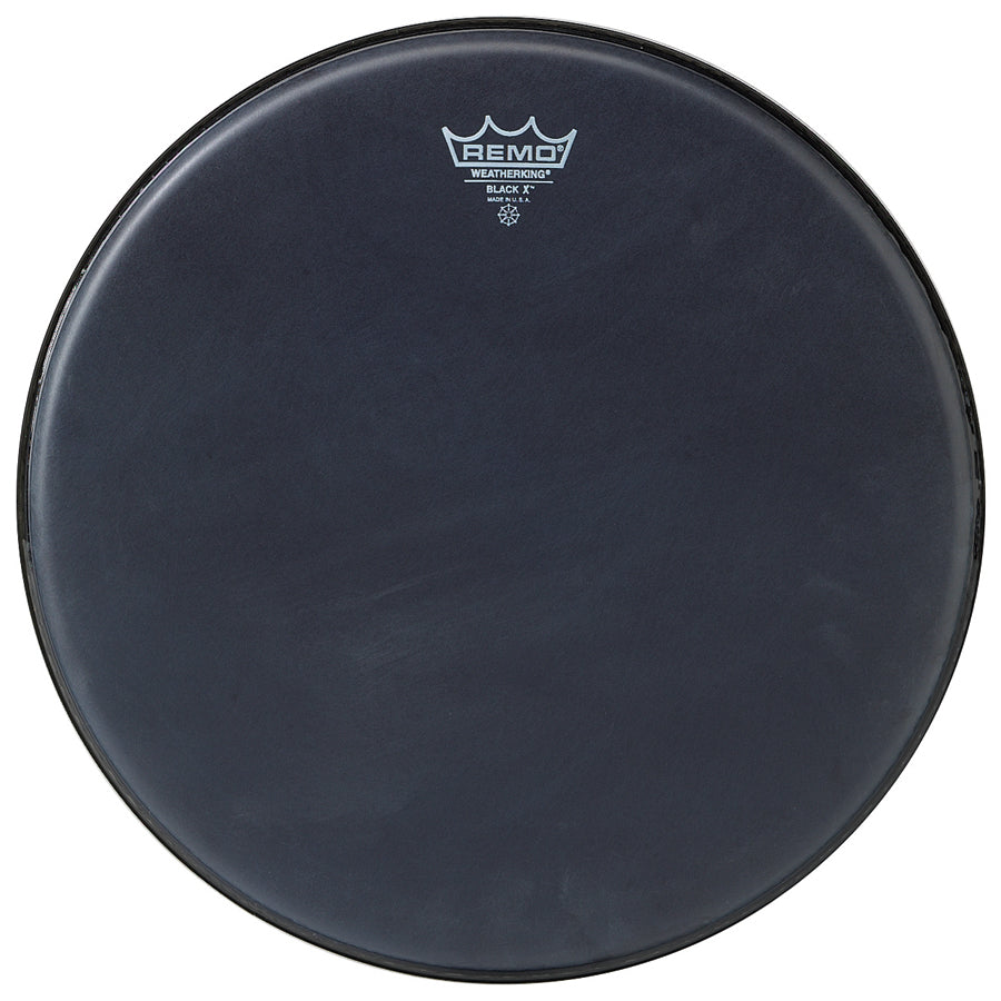 Remo Emperor X Black Suede Black Dot Drum Heads