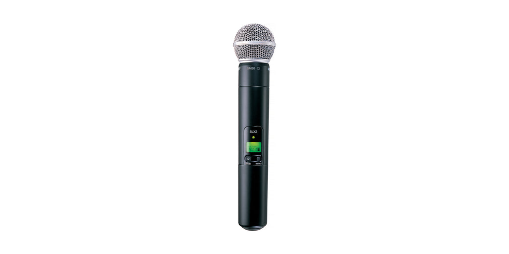 Shure SLX2/SM58-G5 Handheld Wireless Microphone Transmitter