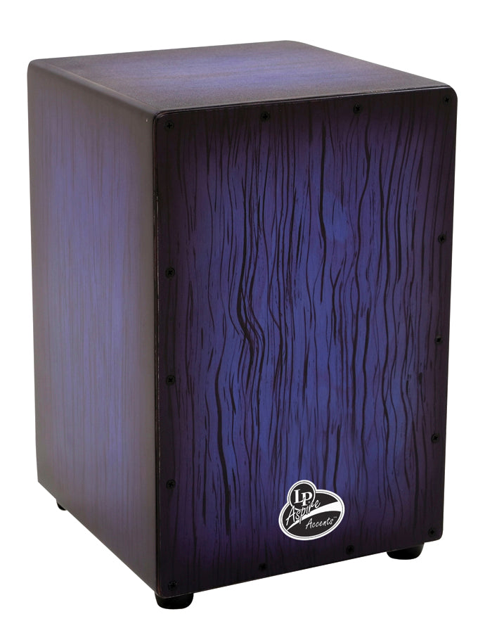 LP LPA1332-BBS Aspire Accents Cajon, Blue Burst Streak