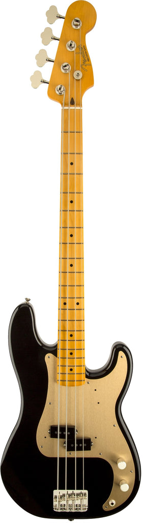 Fender Classic Series '50s Precision Bass Lacquer, Maple Fingerboard, Black