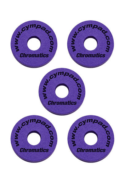 Cympad Chromatics Cymbal Enhancer Set - 40/15mm, Purple