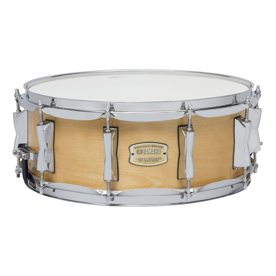 "Yamaha Stage Custom Birch 14"" x 5.5"" Snare Drum - Natural"