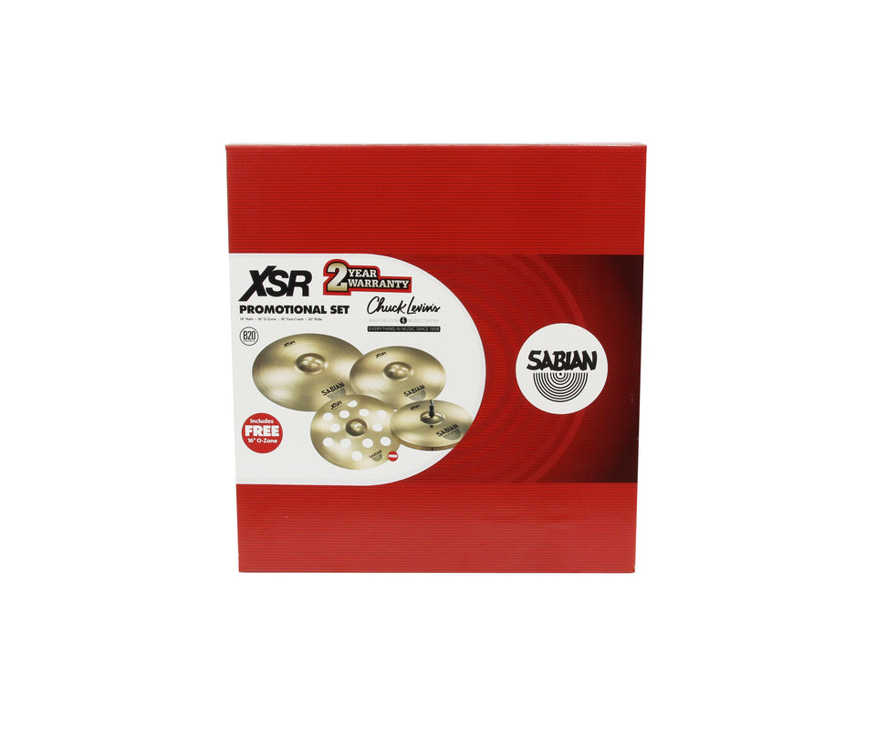 Sabian XSR Chuck Levin's Exclusive Performance Cymbal Set