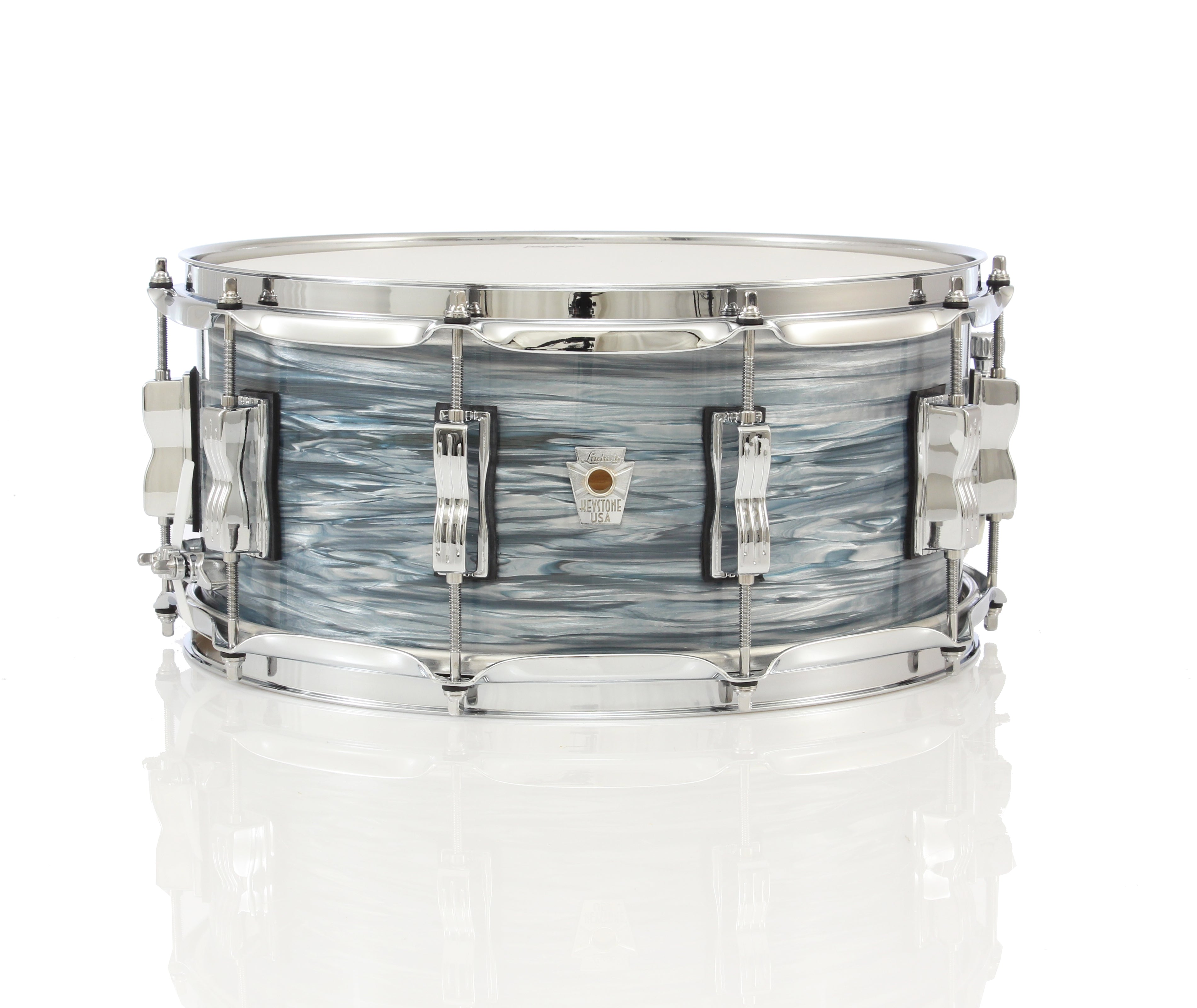 ludwig keystone x 14 x 6 5 snare drum chuck levin 39 s. Black Bedroom Furniture Sets. Home Design Ideas