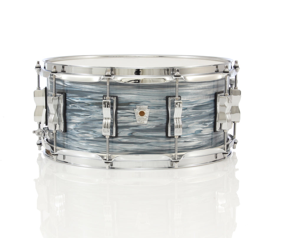 "Ludwig Keystone X 14"" x 6.5"" Snare Drum - Vintage Blue Oyster"