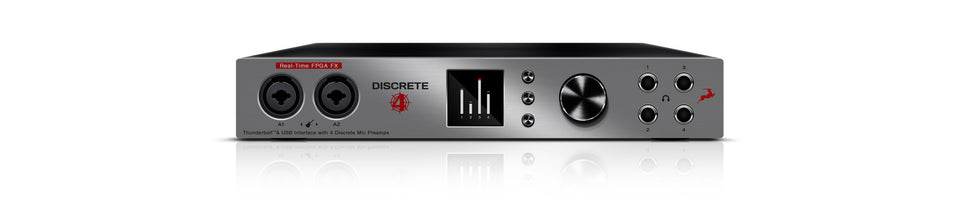 Antelope Audio Discrete 4 + Premium Upgrade FX Pack & AFX2DAW Plugin