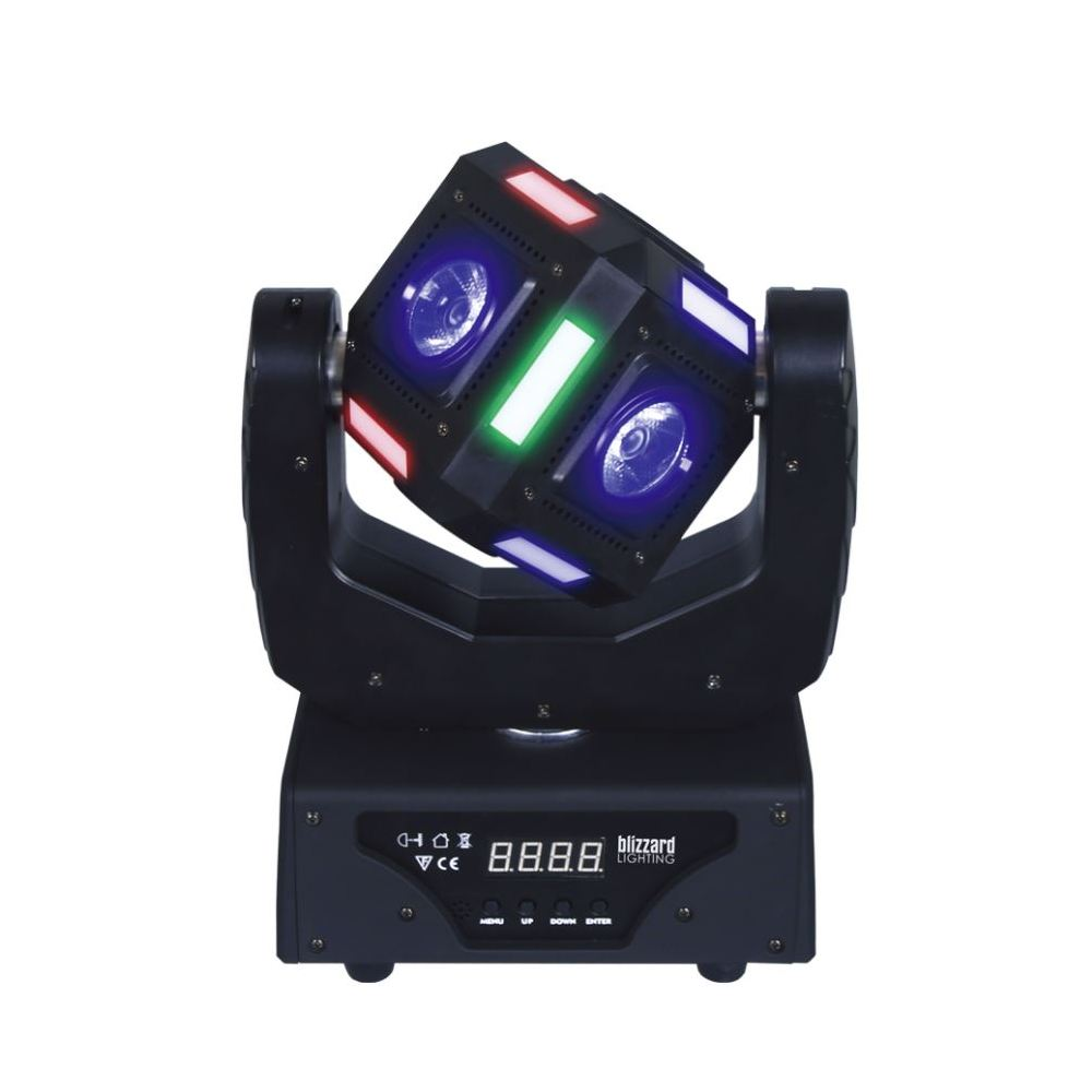 Blizzard Snake Eyes Mini Moving Head LED Light