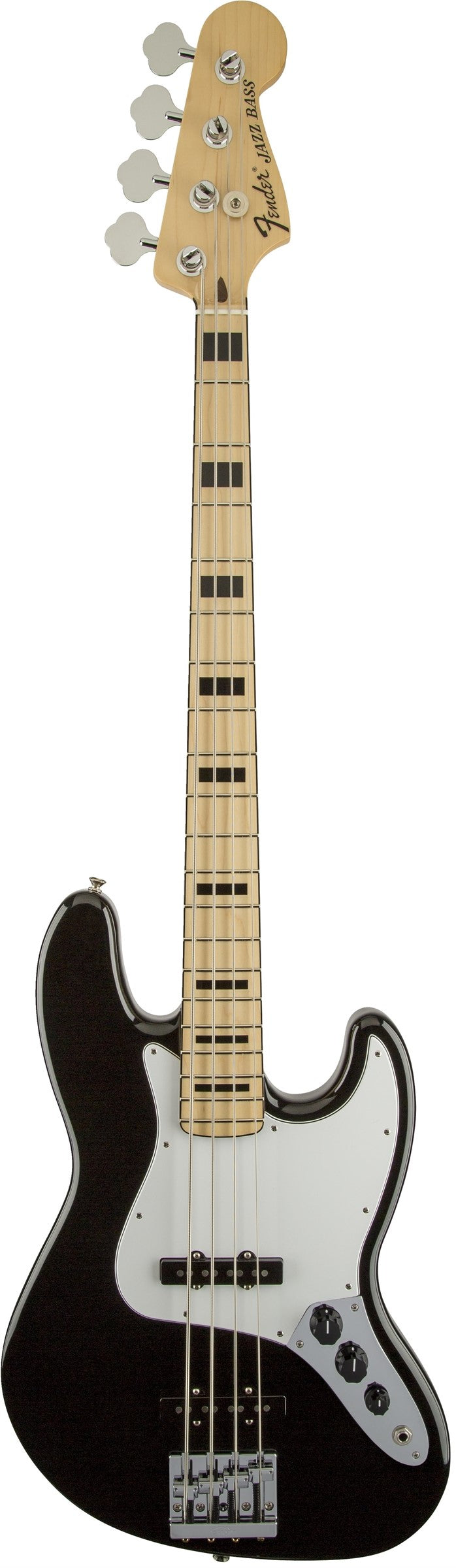 Fender Geddy Lee Jazz Bass, Maple Fingerboard, Black