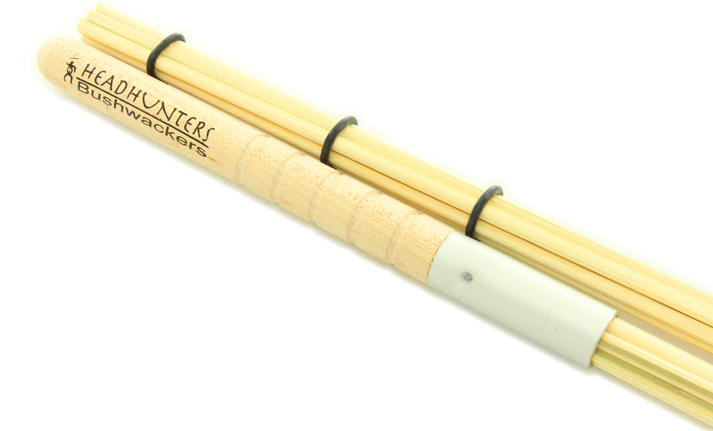 Headhunters Drumsticks Bushwhackers Bamboo Bundled Rods