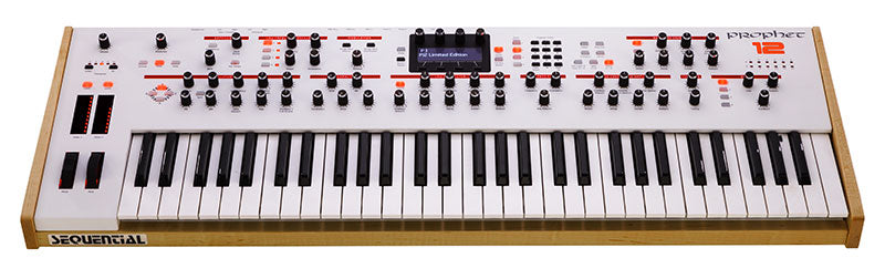 Sequential Prophet 12 Limited Edition Hybrid Digital/Analog Synthesizer - Arctic White