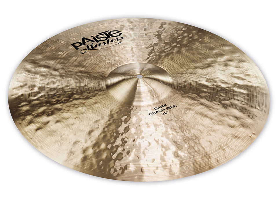 "Paiste 22"" Masters Dark Crash Ride Cymbal"