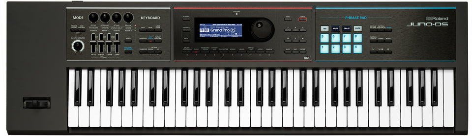 Roland JUNO-DS61 61-Key Velocity Key Lightweight Synthesizer