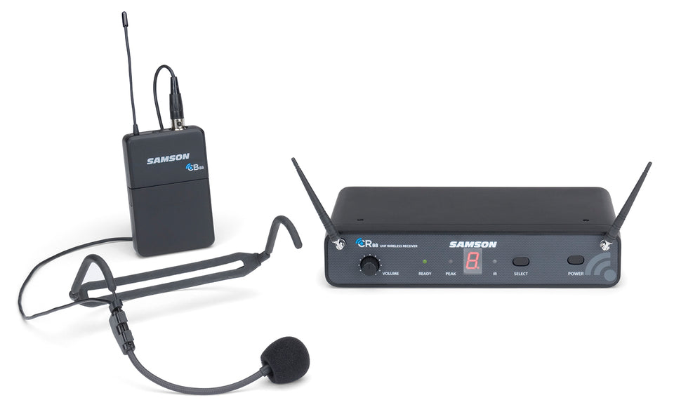 Samson Concert 88 Headset 16 Channel UHF Wireless System