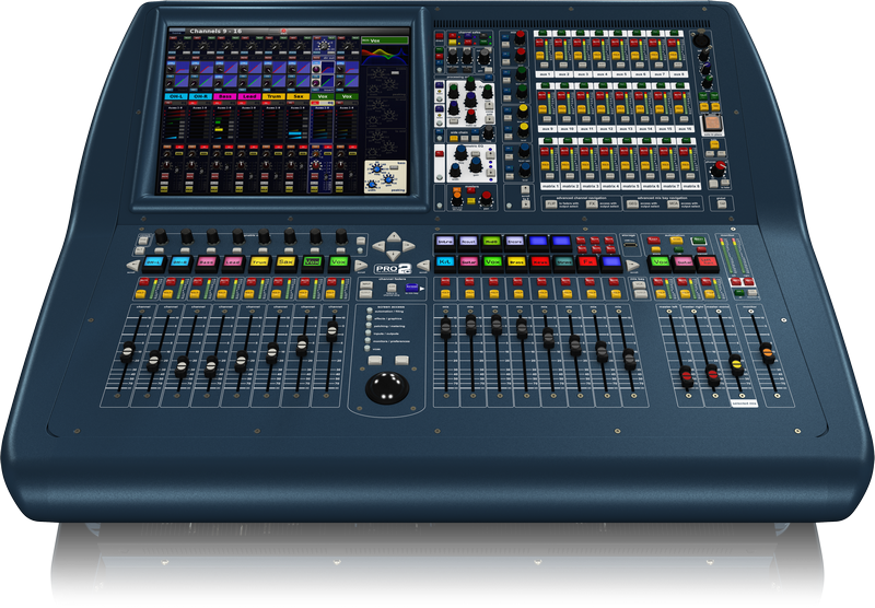 Midas PRO2C-CC-IP Compact Digital Console - Install Package