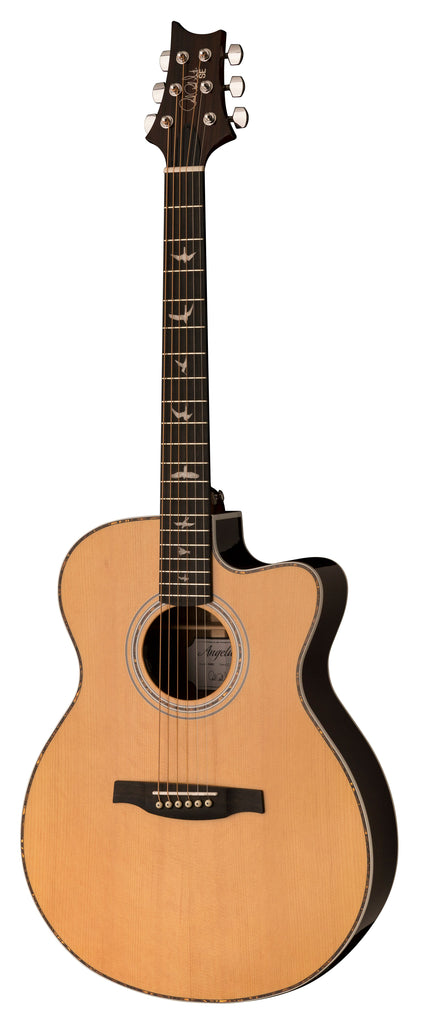 PRS SE Angelus A40E Cutaway Acoustic Electric Guitar - Natural