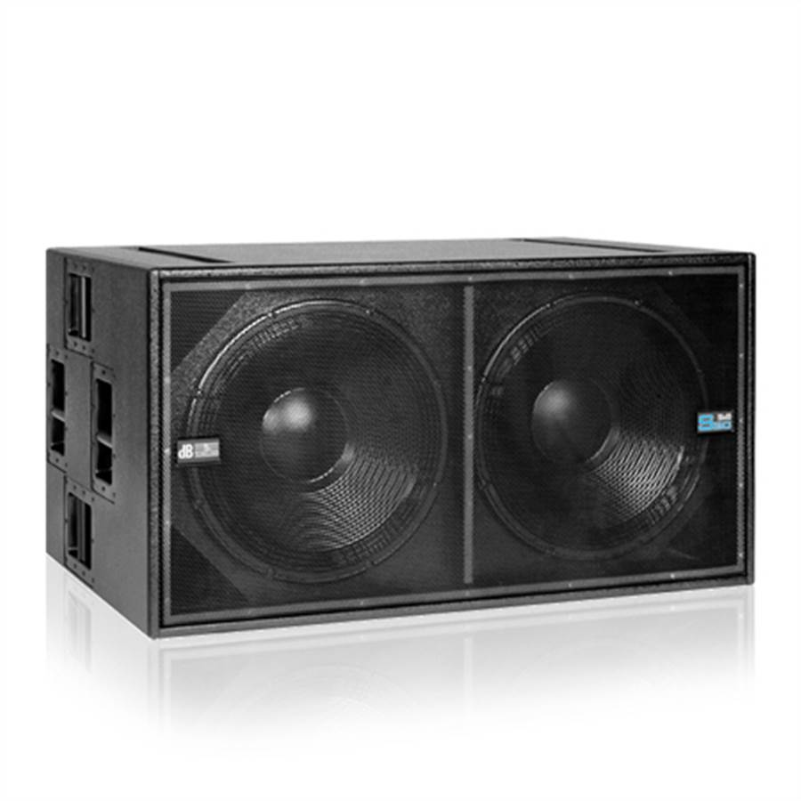 "dB Tech DVA S20 DP 2 x 18"" Active Subwoofer"